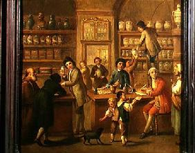 Interior of a Pharmacy
