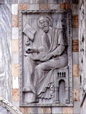 St. Matthew, relief from t...