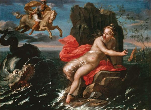 Perseus and Andromeda, Bolognese School