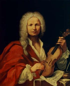 Portrait of Antonio Vivaldi (1678-1741)