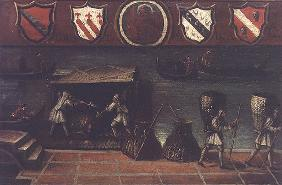 Sign of the Venetian Coal Porters' Guild (panel)