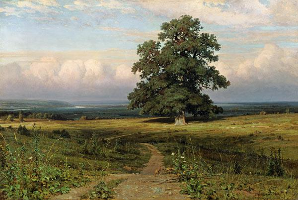 Shishkin / On barren heathland / 1883