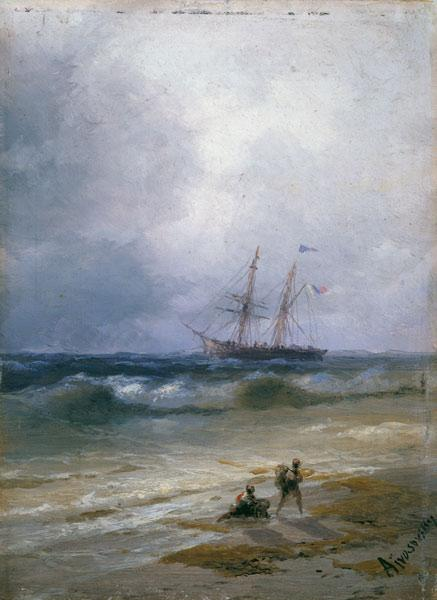 Ship out at Sea