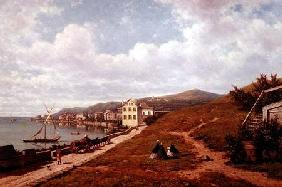Scene by a Swiss Lake