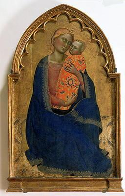 Madonna of Humility (tempera on panel)