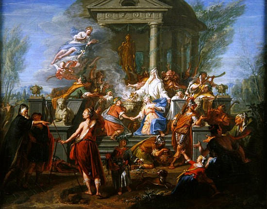 The Story of Iphigenia in Greek Mythology
