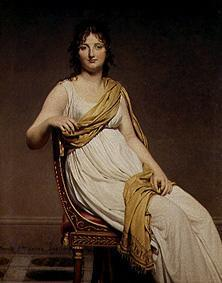 Portrait of the madam Verniac