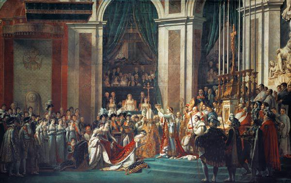 The Coronation of Napoleon at Notre-Dame de Paris on December 2, 1804