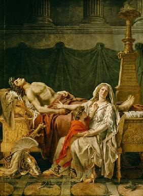 The mourning of the Andromache