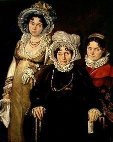 The three women from Gent.