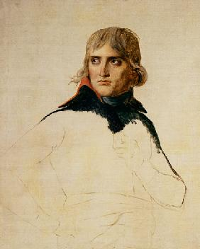 Unfinished portrait of General Bonaparte (1769-1821)
