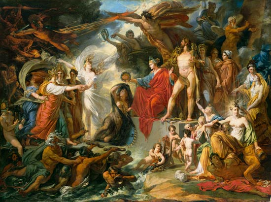 the relationship of greek mythology and christianity