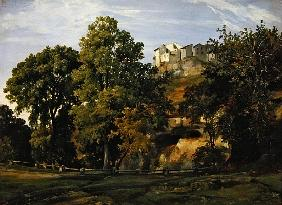 Landscape, view of Marino