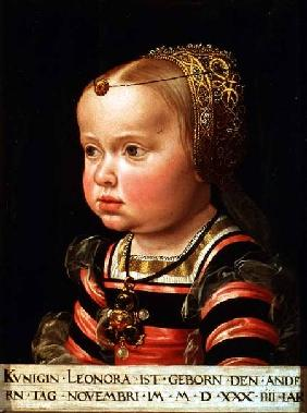 Archduchess Eleanor of Mantua (1534-94), aged two