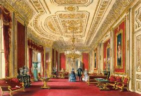 The Crimson Drawing Room, Windsor Castle