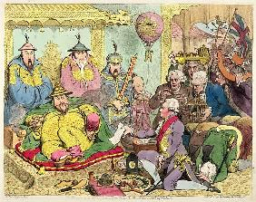 Reception of the Diplomatique and his Suite at the Court of Pekin, c.1793