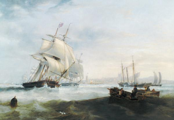 Shipping off Hartlepool