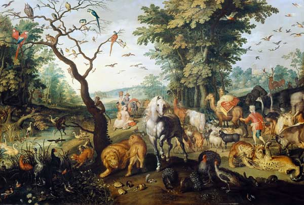 The Entry Of The Animals Into Noahs Ark Jan Brueghel The