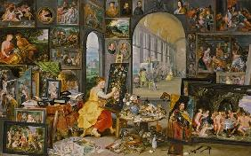 Brueghel d. J., Jan : Allegory of Painting