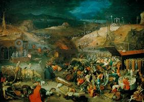 J.Brueghel th.E./ Triumph of Death /1597