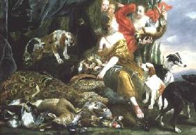 Diana and her handmaidens after the hunt