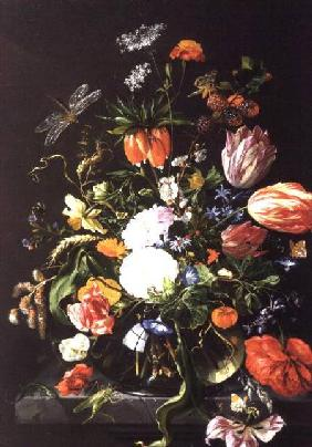 van Dalen, Jan : Still Life of Flowers