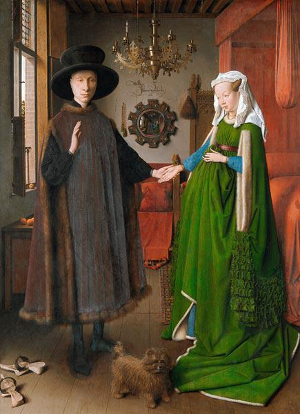 Wedding the Giovanni Arnolfini 1434