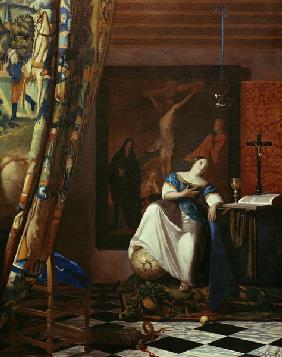 Vermeer / Allegory of Faith / c.1671/74