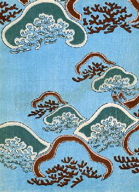 Woodblock Print of Coral