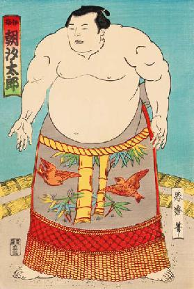 The Sumo Wrestler Asashio Taro