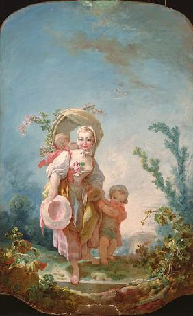 The Shepherdess, 1748-52