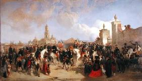 Entrance of the French Expeditionary Corps into Mexico City, 10th June 1863