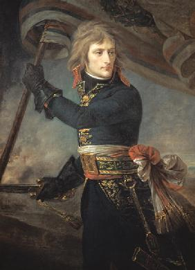 General Bonaparte (1769-1821) on the Bridge at Arcole