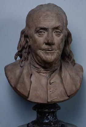 Bust of Benjamin Franklin (1706-90) 1778