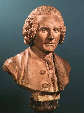 Bust of Jean-Jacques Rousseau (1712-78)