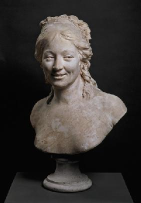Portrait bust of Madame Houdon, the wife of the artist