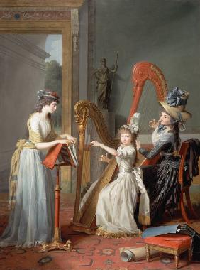 (the harp players Mademoiselles this ' Orléans)