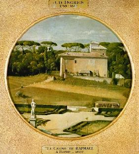 ''Casino of Raphael'' in the gardens of the Villa Borghese, Rome