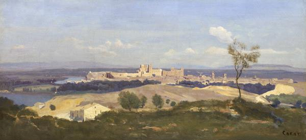 Avignon from the West