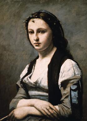 Woman with the Pearl