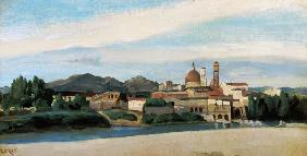 View of an Italian Village