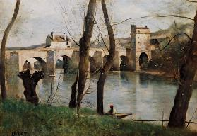 The bridge of Mantes.