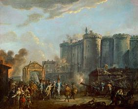 The Arrest of the Governor of the Bastille, 14th July 1789