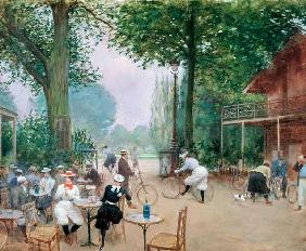 The Chalet du Cycle in the Bois de Boulogne