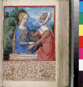 The Visitation (Book of Hours)