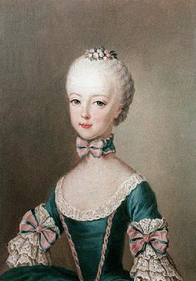 Marie Antoinette (1755-93) daughter of Emperor Francis I and Maria Theresa of Austria, wife of Louis