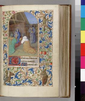 The Adoration of the Magi (Book of Hours)