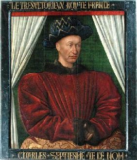 Portrait of Charles VII, King of France