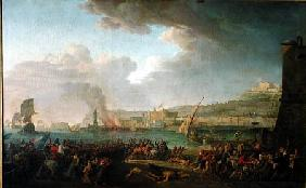 The French Army Entering Naples Under the Command of General Championnet (1762-1800) 21st January 17