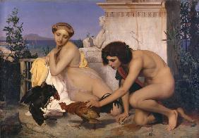Young Greeks Attending a Cock Fight (The Cock Fight)